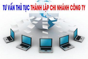 Tư vấn thành lập chi nhánh tại Kiên Giang