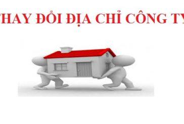 Thay đổi địa chỉ kinh doanh công ty cùng quận, huyện tại Kiên Giang