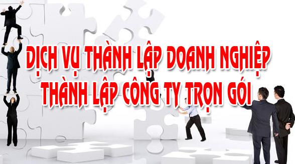 Dịch vụ thành lập công ty trọn gói tại Kiên Giang