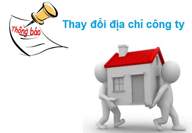 Thay đổi địa chỉ công ty thành phố Phú Quốc Kiên Giang