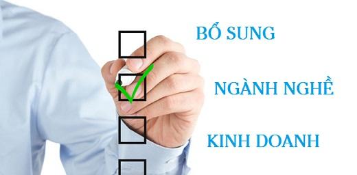 Trình tự bổ sung, thay đổi ngành nghề kinh doanh công ty cổ phần tại Hà Tiên