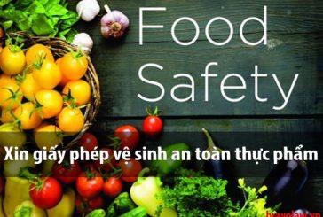 Cấp Giấy phép đủ điều kiện An toàn vệ sinh thực phẩm tại Phú Quốc