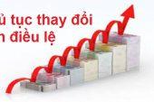 Thay đổi vốn điều lệ công ty tại Hà Tiên